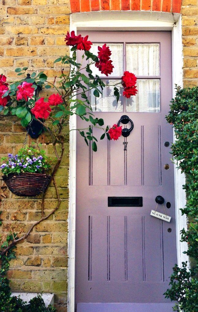 White door number 7 in Weybridge Surrey England. & Weybridge Surrey England | Doors Portes Puertas Türen ...