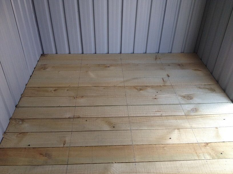 Garden Shed Foundations What Is The Best Floor Option