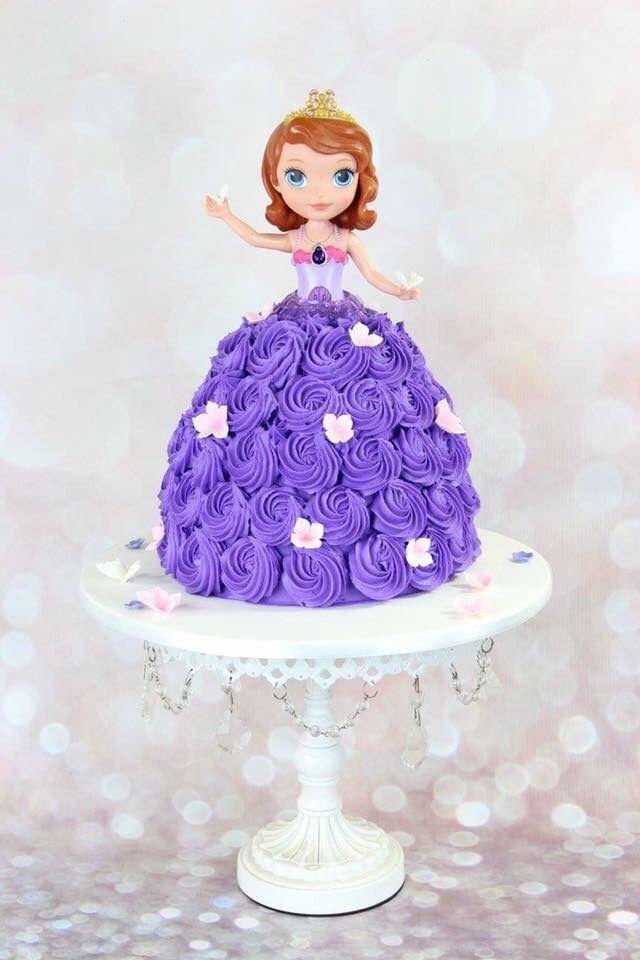 Princess Sophia Birthday Cake With Images Princess Birthday