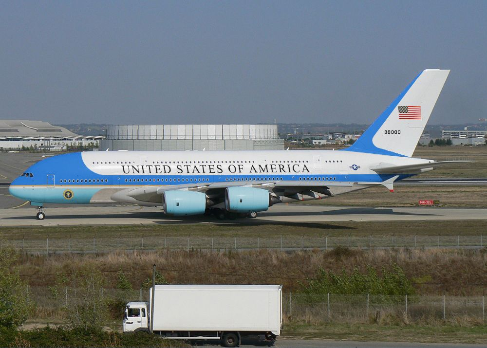 Air Force One Airbus A380 | Boeing aircraft, Commercial