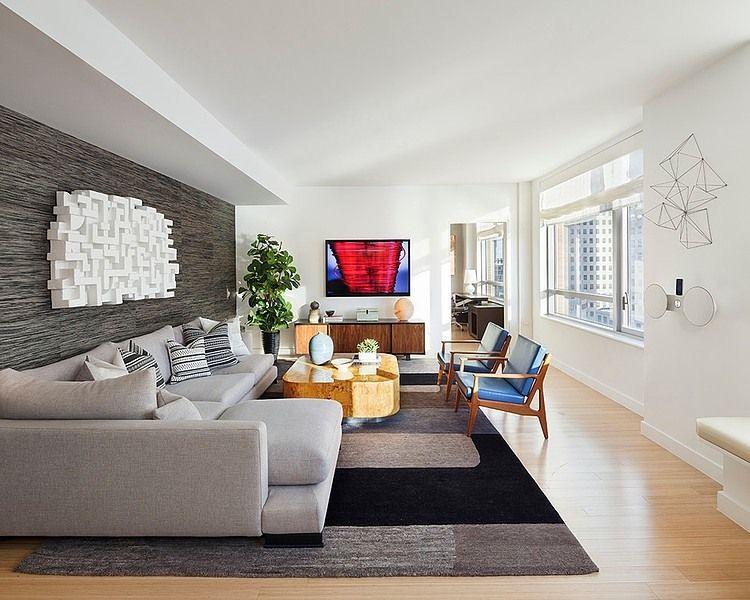 Tribeca Bacheloru0027s Residence by Willey Design Decoracion de