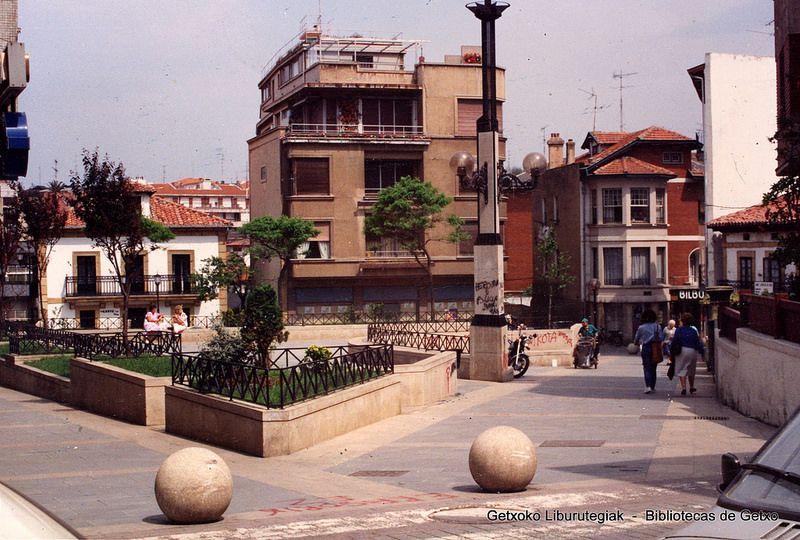 Tellagorri Plaza // Plaza de Tellagorri, 1989 (Colección Daniel Zubimendi) (ref. Z00609)