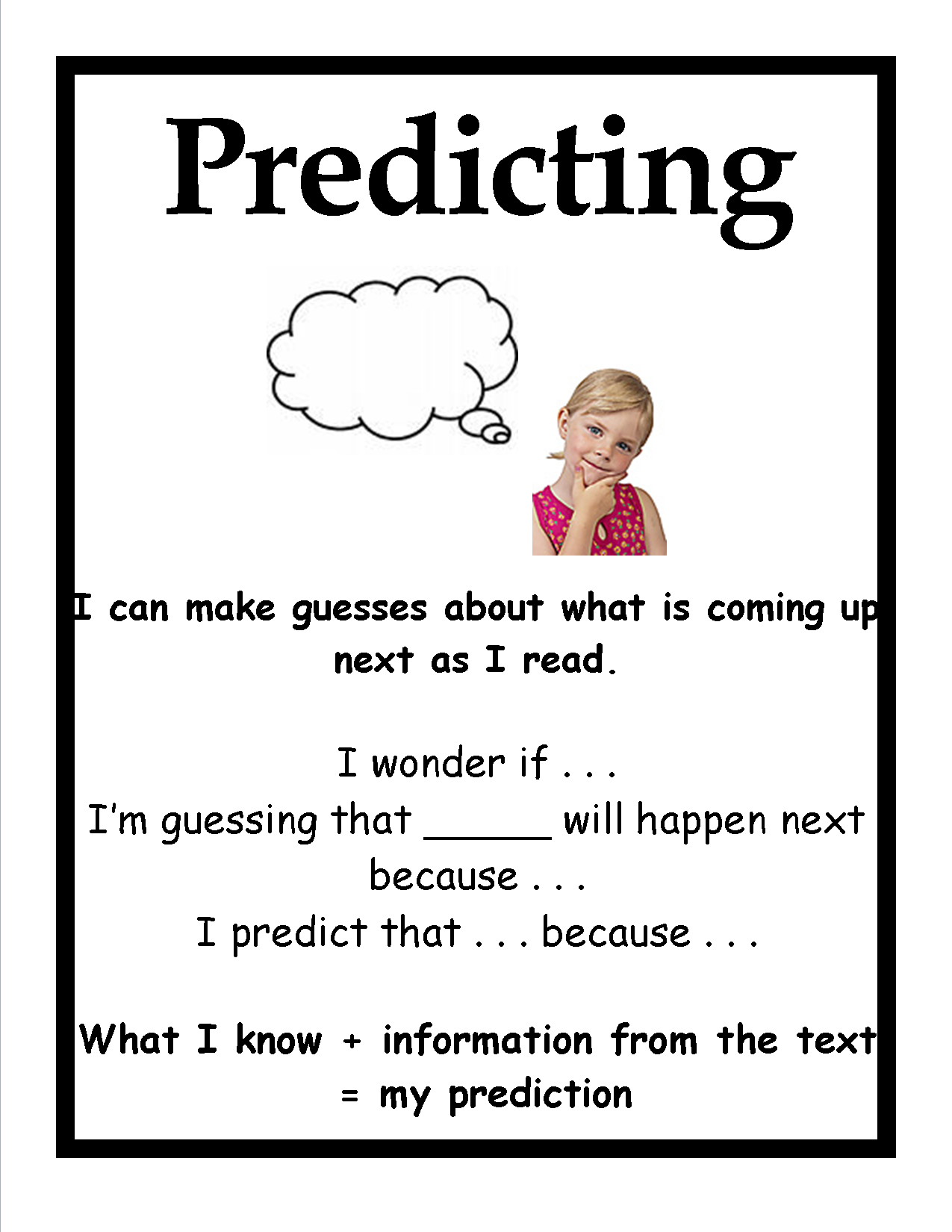 20 Worksheets Making Predictions