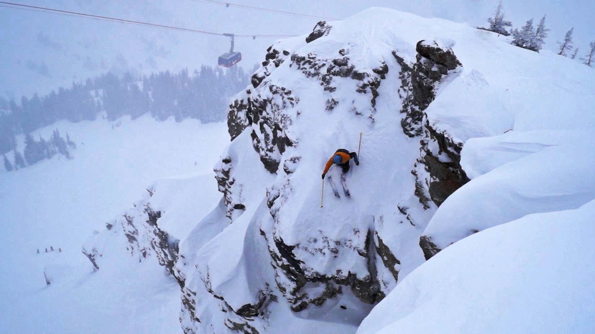 """Jackson Hole """"Pow""""nded Ski Edit Jackson hole skiing"""