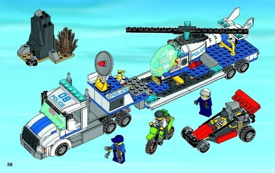 City Helicopter Transporter Lego 60049 Who Dropped The Lego