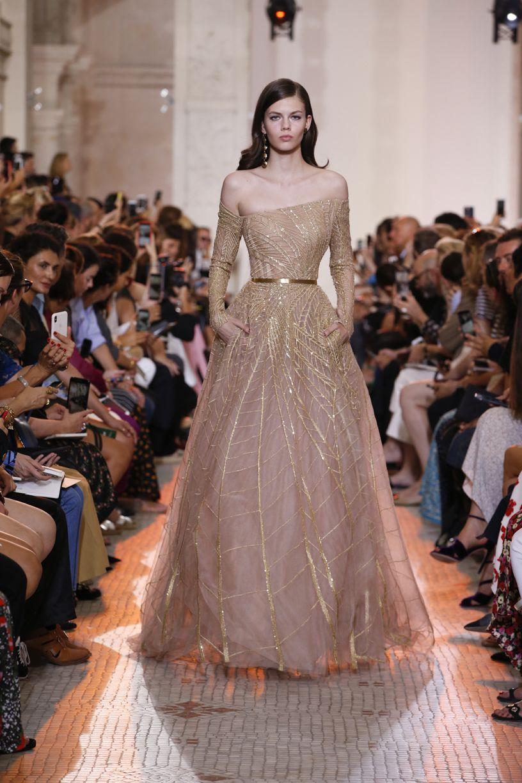Elie Saab Haute Couture Autumn Winter 2018 19 Dresses Haute Couture Gowns Fashion Dresses