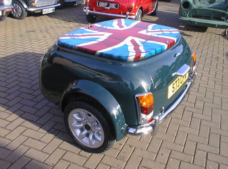 Classic Mini Trailer Project Kent Archive Classic Mini Mini Cars Trailer