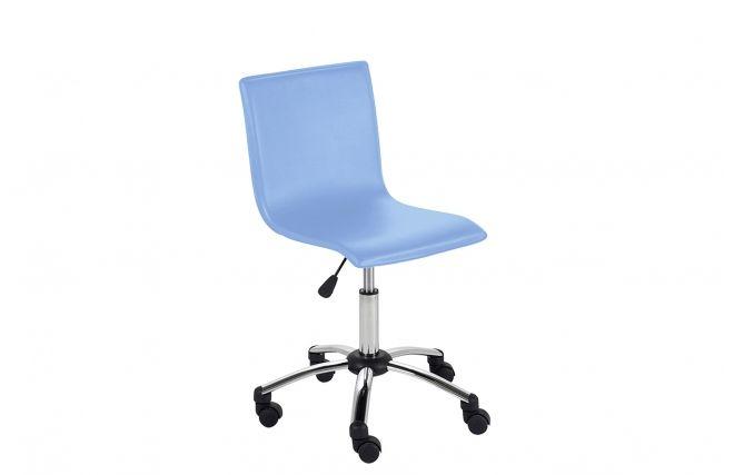 Silla de escritorio con ruedas para ni o pvc azul baxy zoom90 sillas escritorio pinterest - Sillas escritorio ninos ...