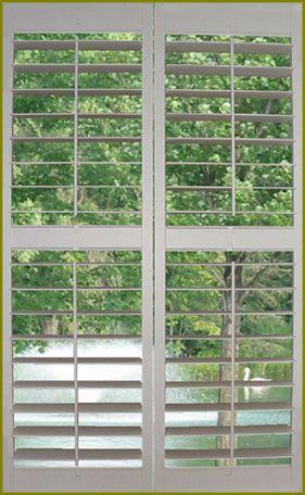 Interior Vinyl Window Shutters   Window Treatments   Zimbio