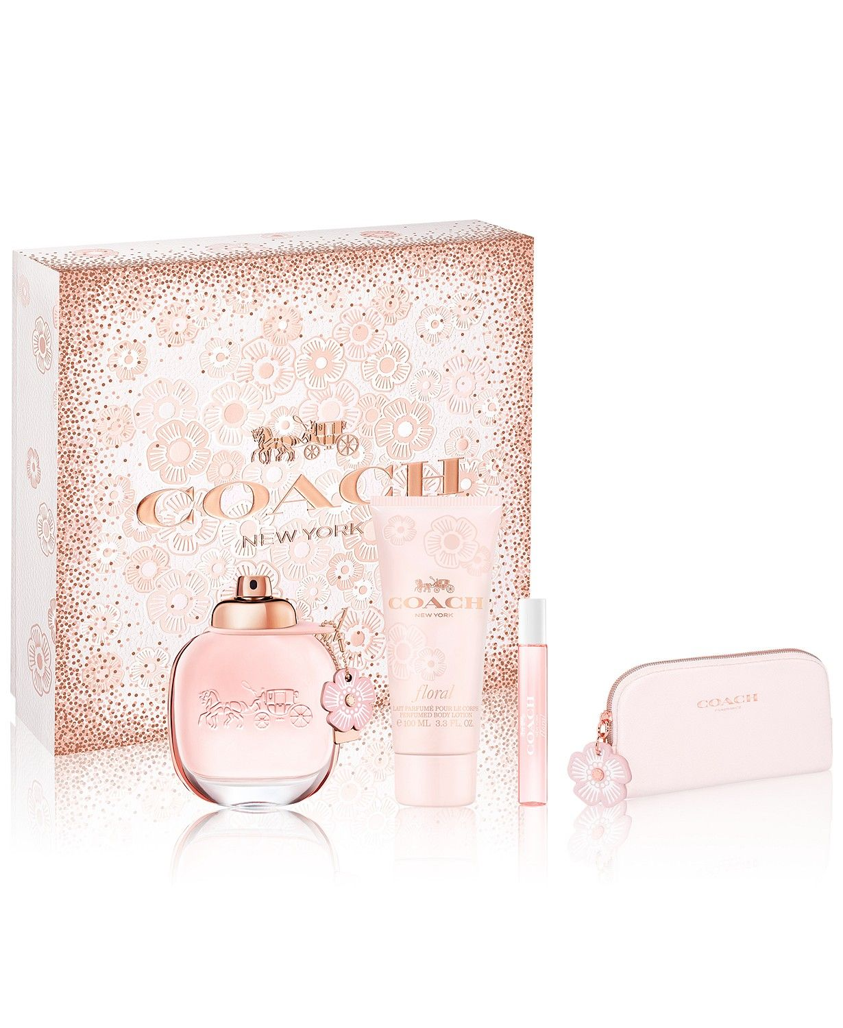 Coach 4 Pc Floral Gift Set Reviews All Perfume Beauty Macy S Coach Floral Feminine Gifts Gift Set