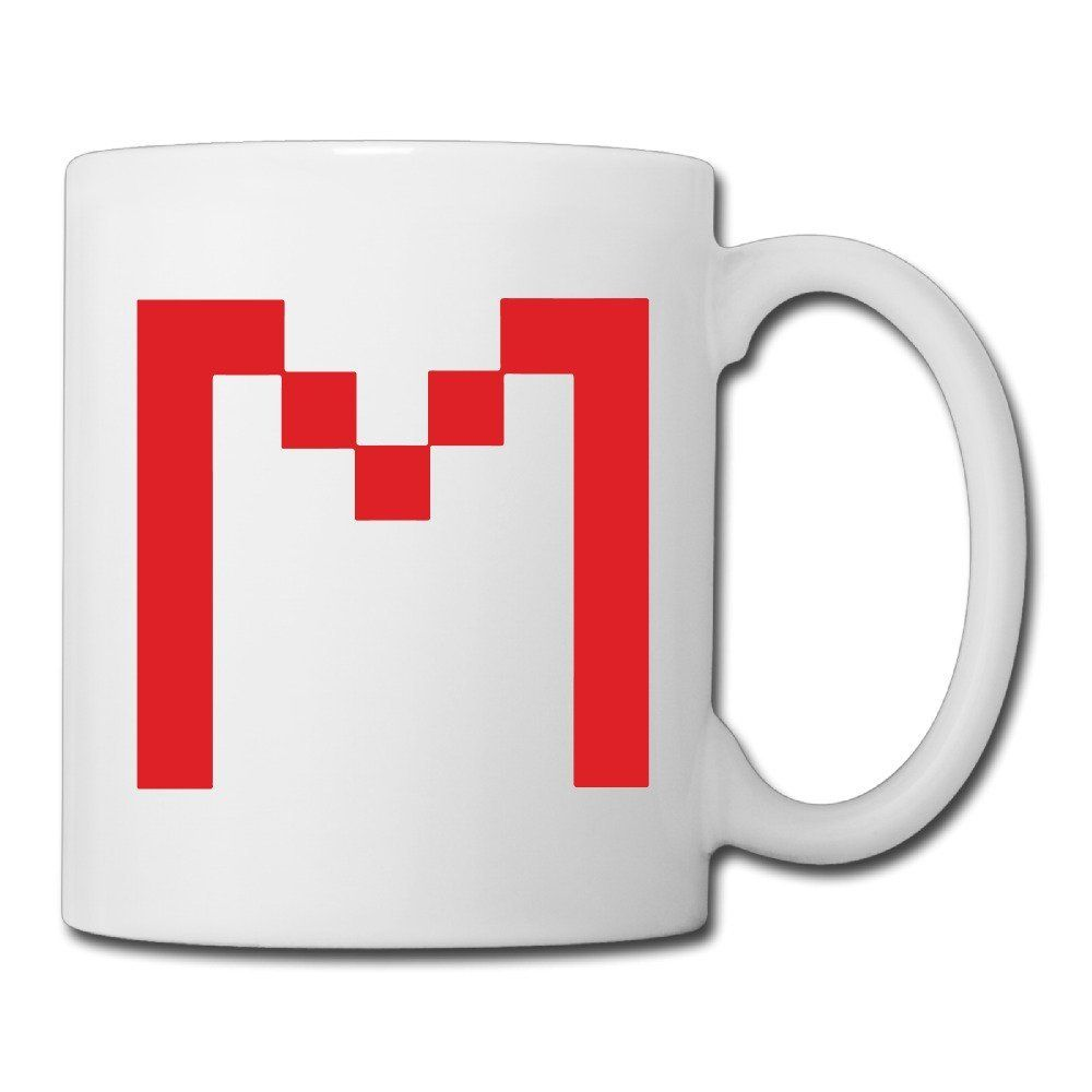 Christina Markiplier Logo Ceramic Coffee Mug Tea Cup White For