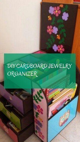 DIY cardboard jewelry organizer! DIY cardboard jewelry organizer organizer ....., #DIY #j ...