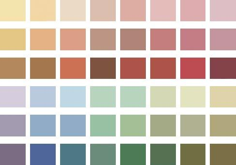 Georgian era colour palette palettes pinterest doll for Terrace color combination