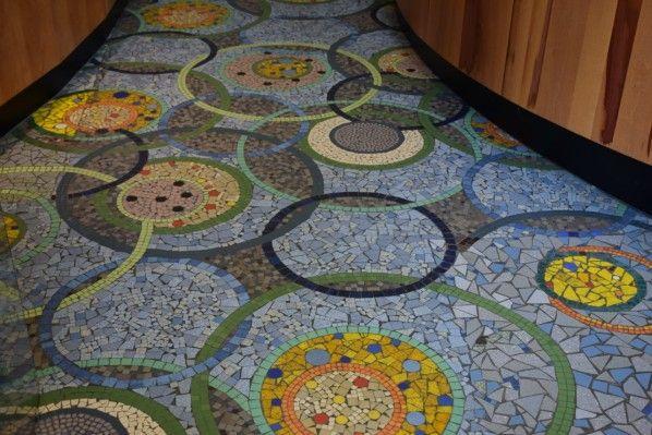 La Mosaique Adoucit Les Moeurs Avec Images Mosaique Mosaiste Art Deco