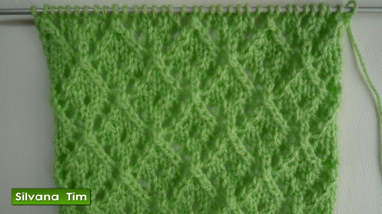 Punto casitas tejido con dos agujas tejido con dos - Tutoriales de punto con dos agujas ...