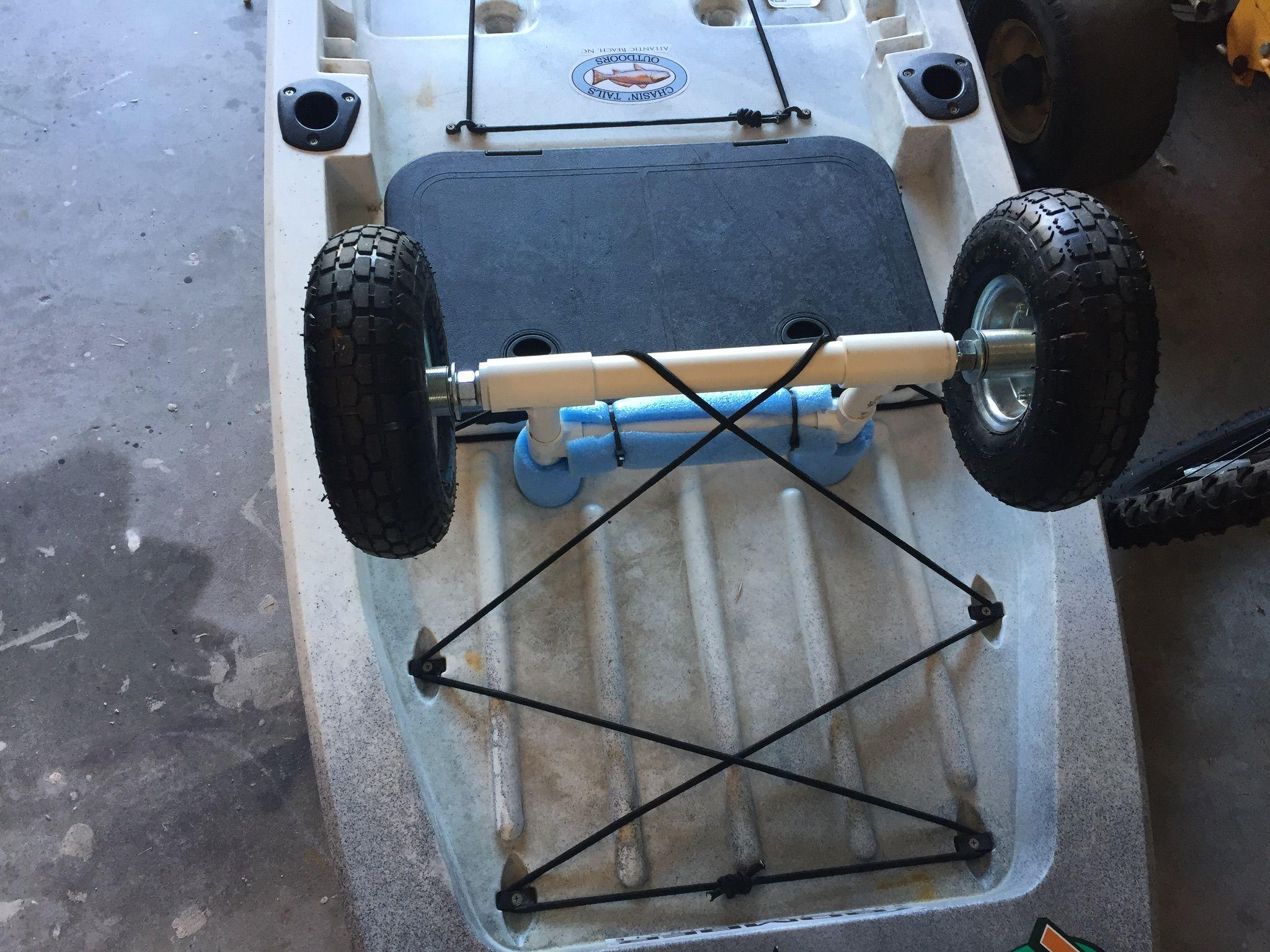 DIY KAYAK CART ascend fs128t | DIY KAYAK CART | Kayak cart