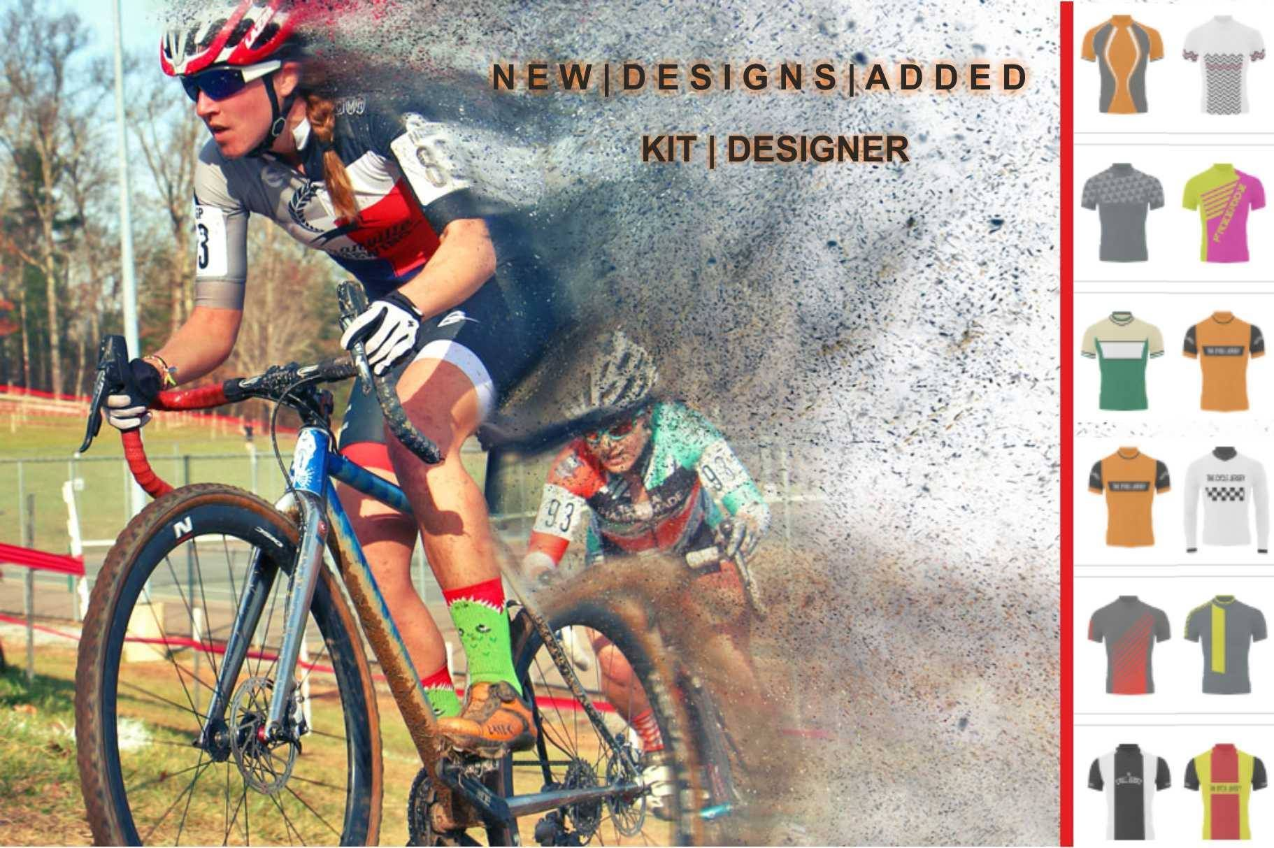in charge of designing jerseys for the annual office charity ride