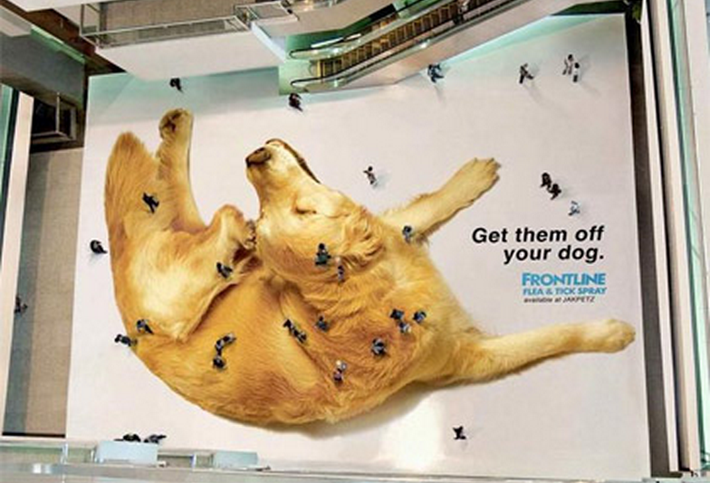 Frontline - Guerilla Marketing Campagne | Publicidad creativa ...