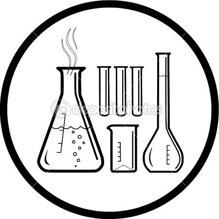 47++ Test tube clipart black and white ideas