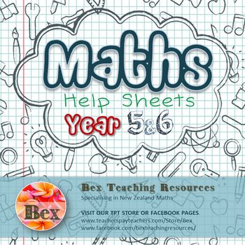 Maths Help Sheets Year 5&6 | Math, Product math and Teacher