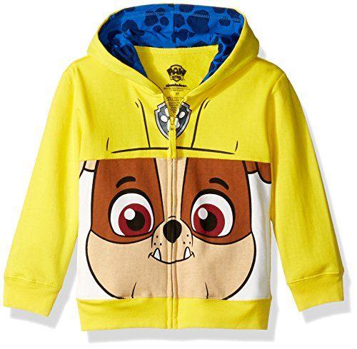Nickelodeon Toddler Boys Paw Patrol Ryder Costume Hoodie New 2T Multi