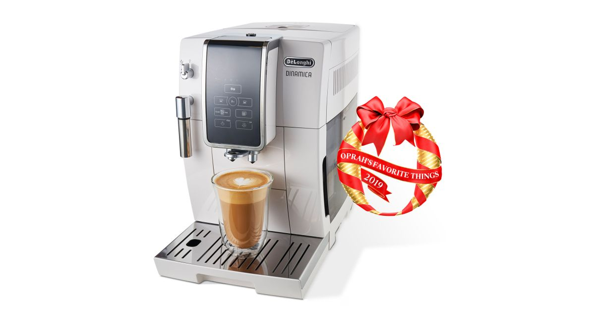 De'Longhi Dinamica Fully Automatic Coffee and Espresso Machine Selected as One of This Year's Oprah's Favorite Things #automaticespressomachine