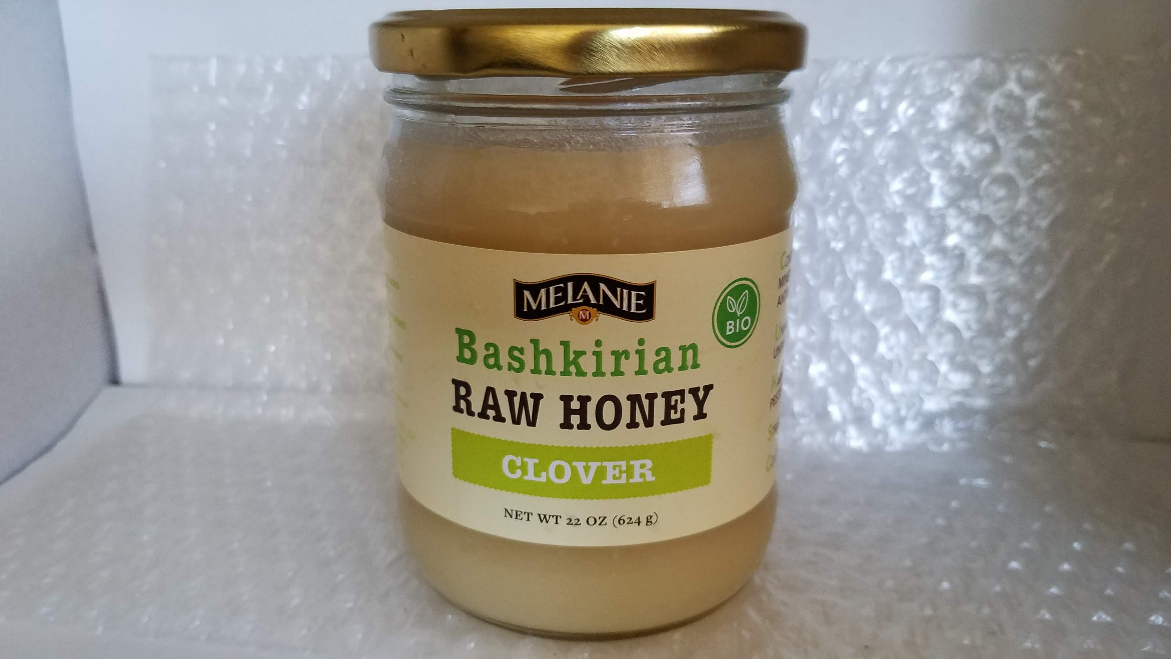 Clover honey is produced from the nectar of clover blossoms