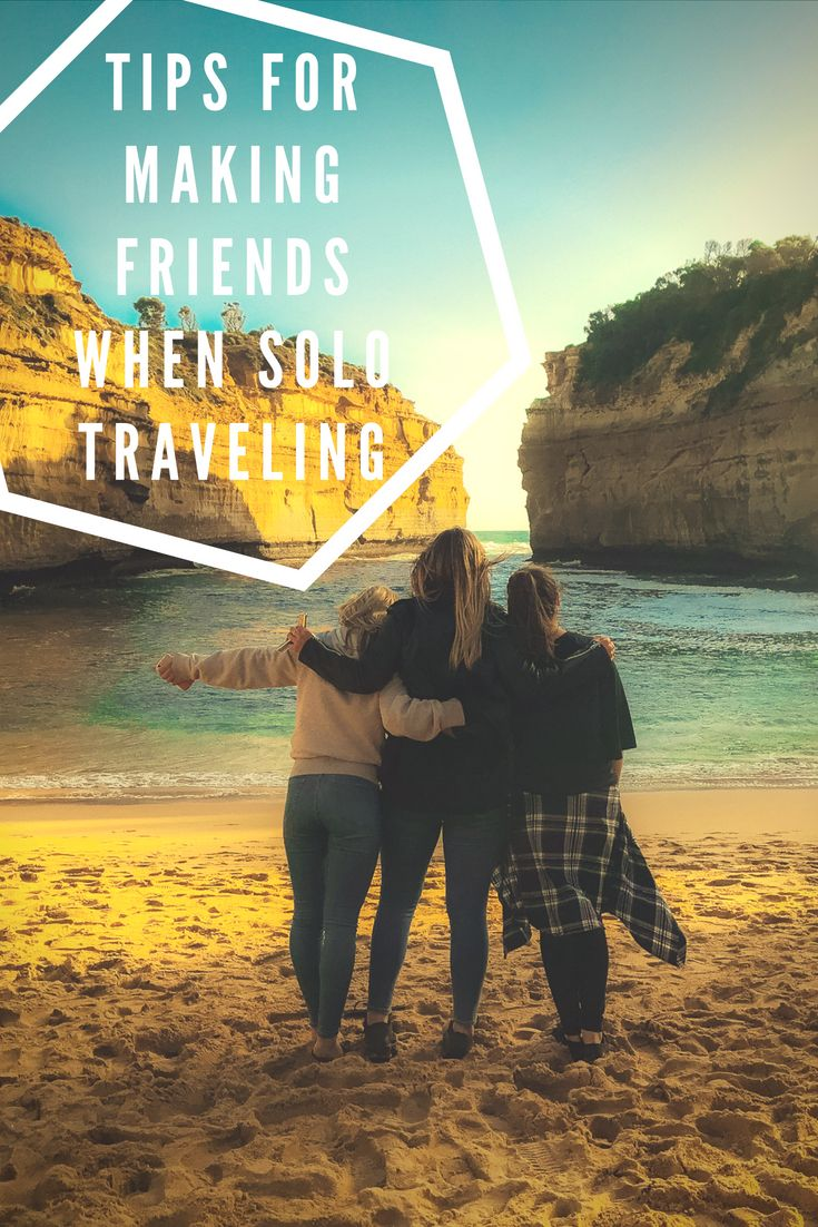 Afraid of traveling alone? Here are some tips for making ...