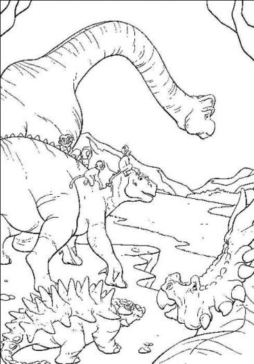 dinosaur colouring pages dinosaur coloring pagesdisney