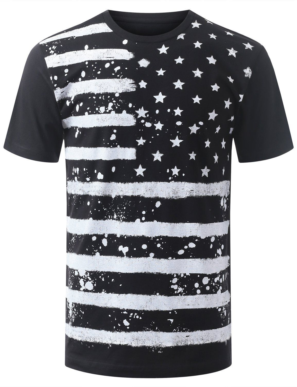 Amazon Com Urbancrews Mens Hipster Hip Hop Freedom America