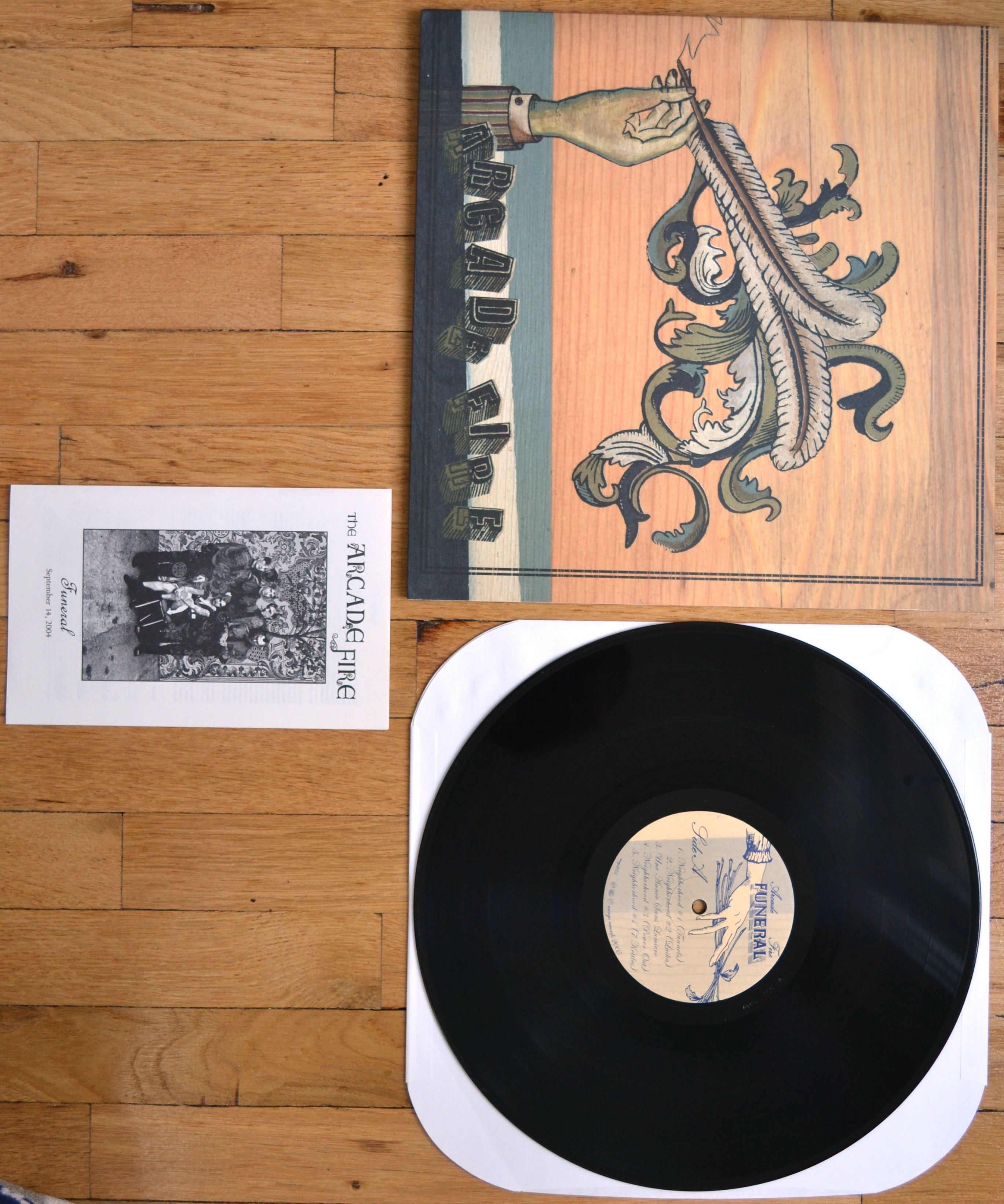 2005 Album By The Arcade Fire Comes On 180 Gram Black Vinyl In An Embossed Gatefold Jacket Vinyl And Jacket In Nm Condition Trackli Arcade Fire Vinyl Arcade