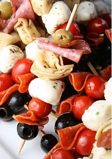 TONS of amazing party appetizer ideas!