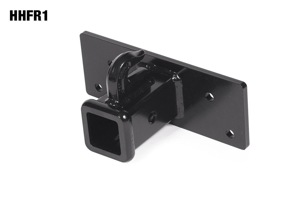 Rear Receiver Hitch Plate for Sub-compact Tractors