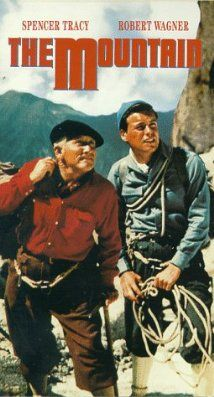 The Mountain 1956 With Spencer Tracy And A Young Robert Wagner
