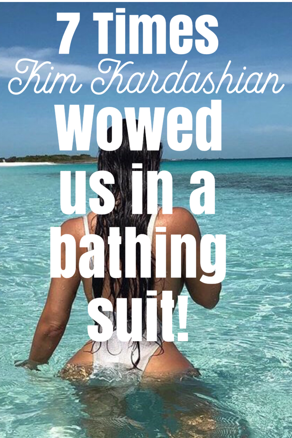 The Kardashians, especially Kim are known for going viral on selfies alone! So I thought it would be neat to put together a list of the 7 Times Kim K. Wowed us in a bathing suit! #fashion #bathingsuit #swimming #swimdress #swimsuit #celebritynews #celebrityfashion #kimkardashianstyle #kardashianstyle #kardashian #kimkardashin