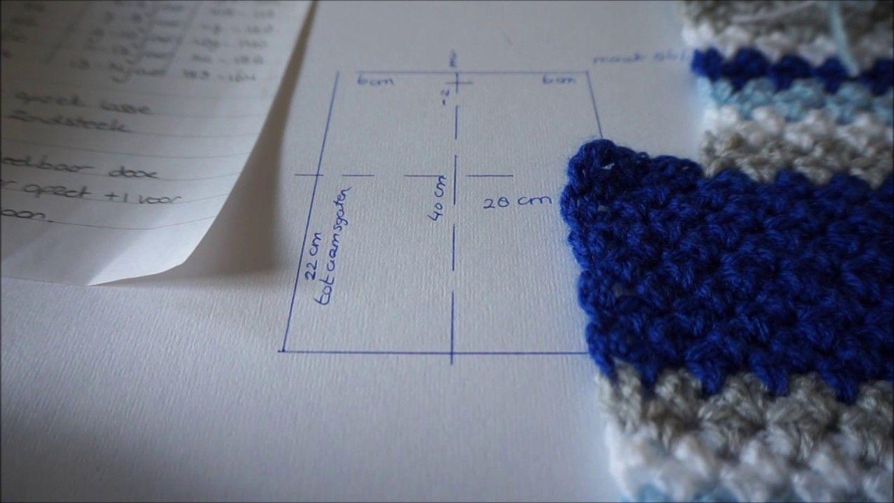 Iedereen Kan Haken Spencer Voor Boy Jongen Crochet Leren Haken