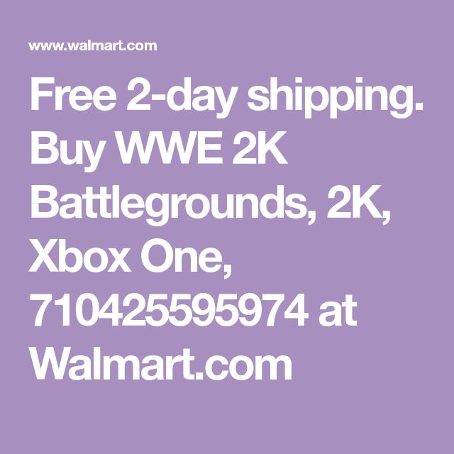 Wwe 2k Battlegrounds 2k Xbox One 710425595974 Walmart Com Wwe Xbox One Wwe 2k
