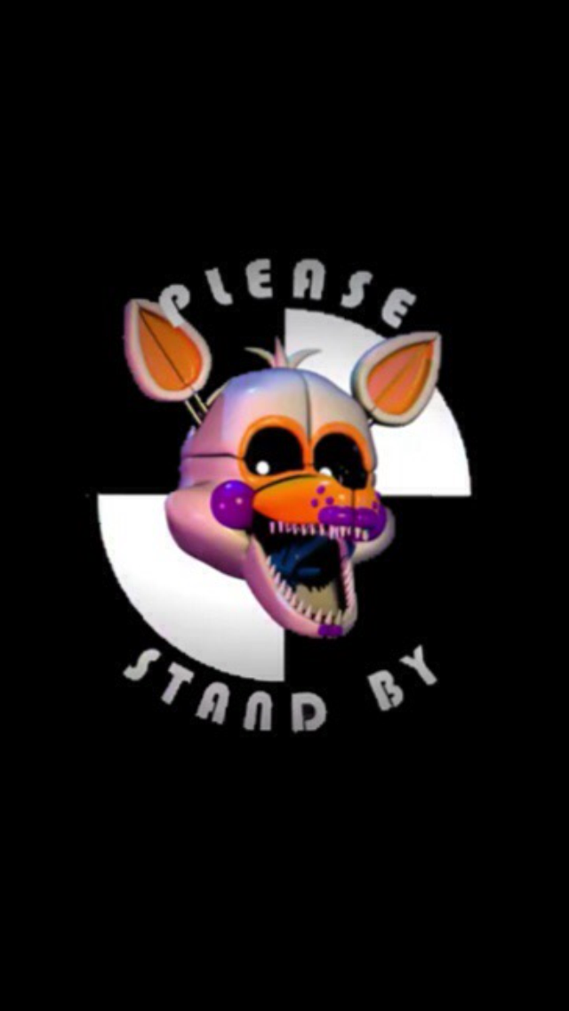 Lolbit Please stand by wallpaper for ipod/iphone by