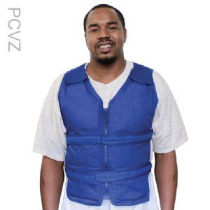 Adjustable Zipper Cooling Vest With 4 Long Cool58 Phase Change
