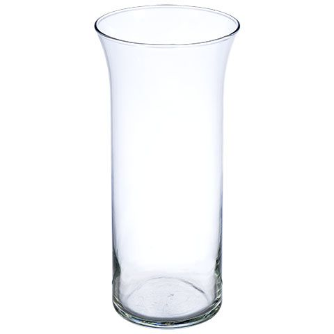 Bulk Glass Cylinder Vases With Flared Rims 9 In At Dollartree