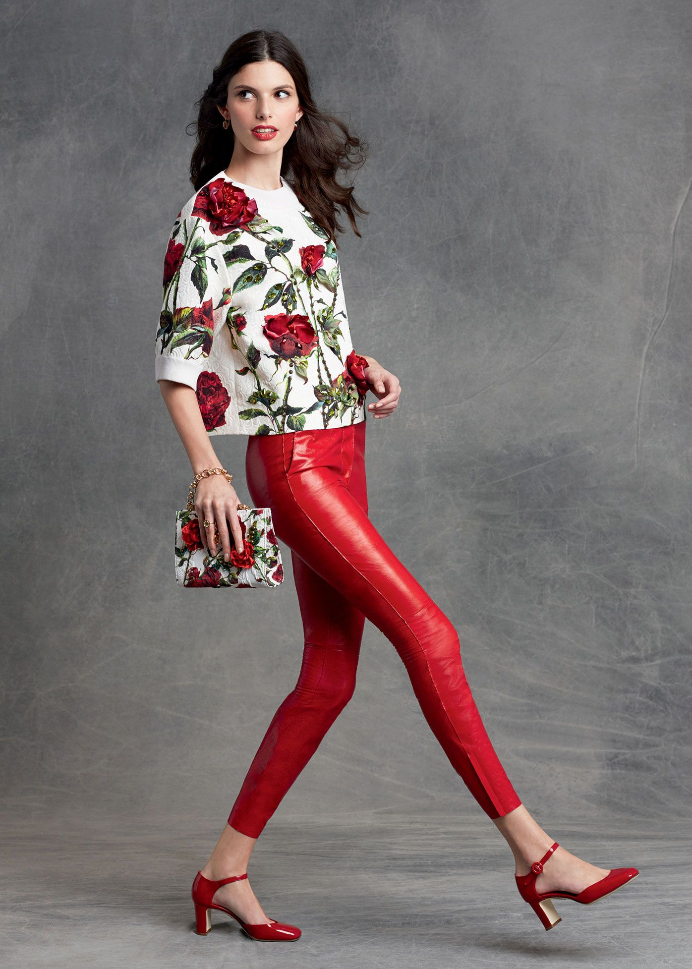 84f813c2f03e The pants! Dolce   Gabbana Women s Clothing Collection Winter 2016 ...