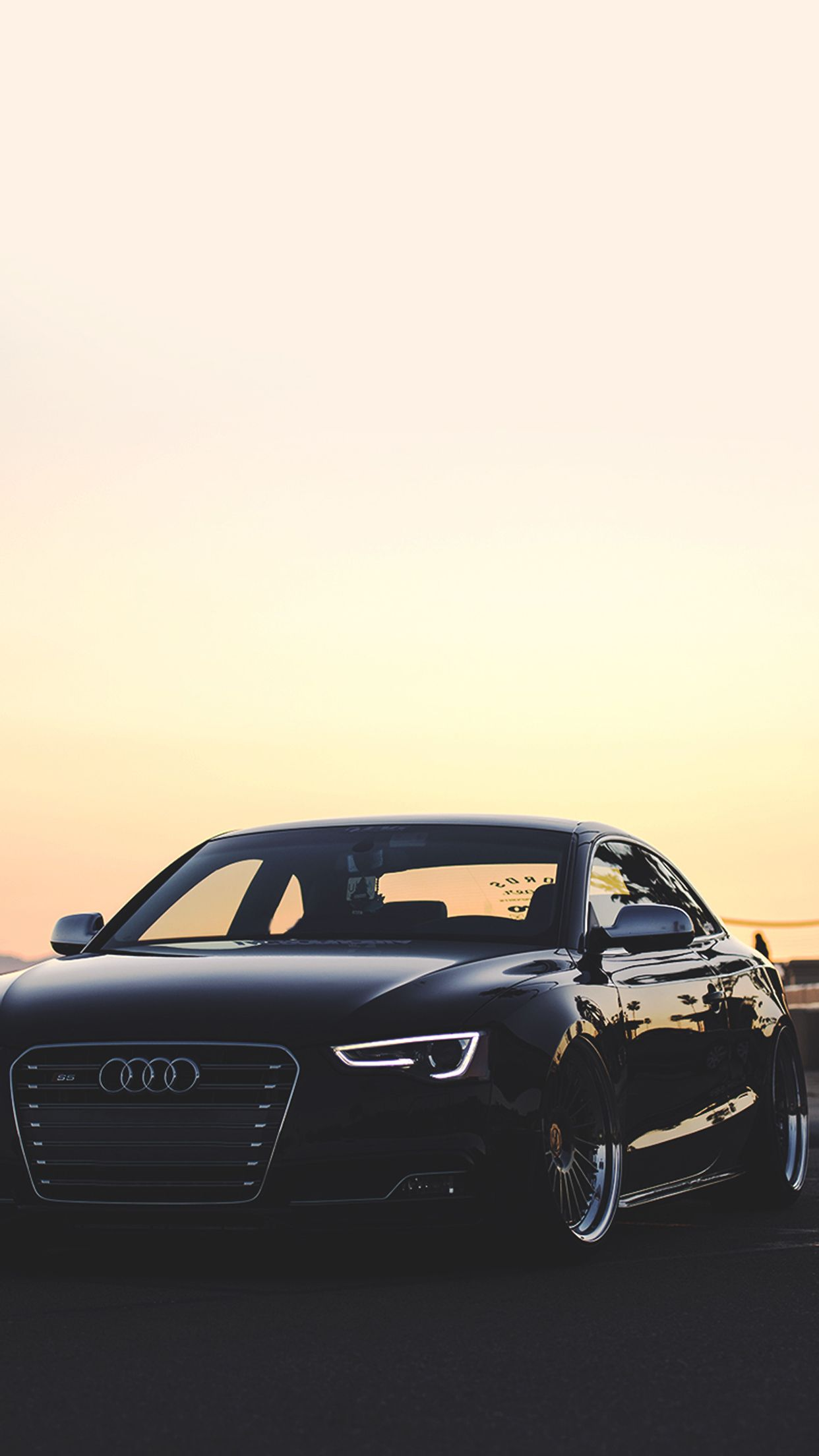 Iphone Luxury Cars Wallpaper Audi R8 Black Front The Black List