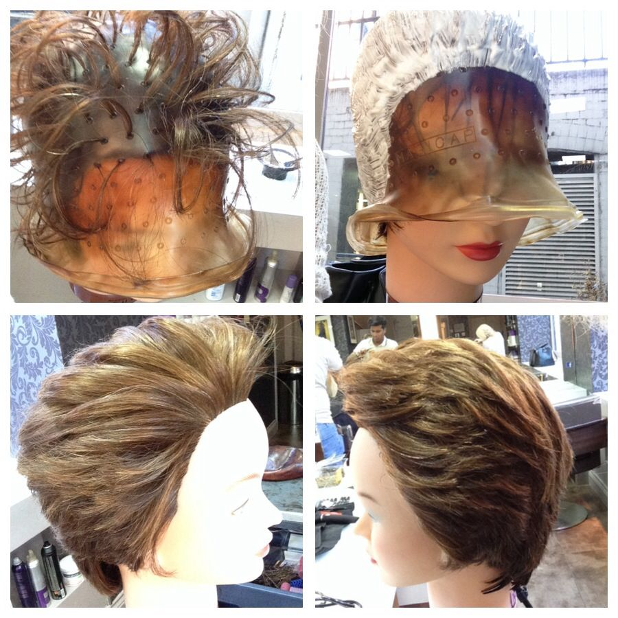Cap Highlights In 2020 Hair Color For Women Cap