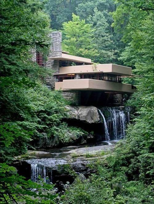 Frank Lloyd Wrights Fallingwater Western Pennsylvania