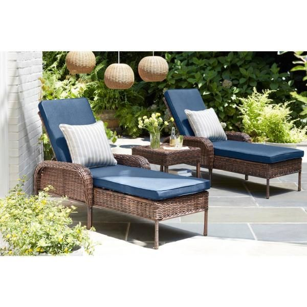 Pin On Exterior Paint Colors, Blue Outdoor Furniture