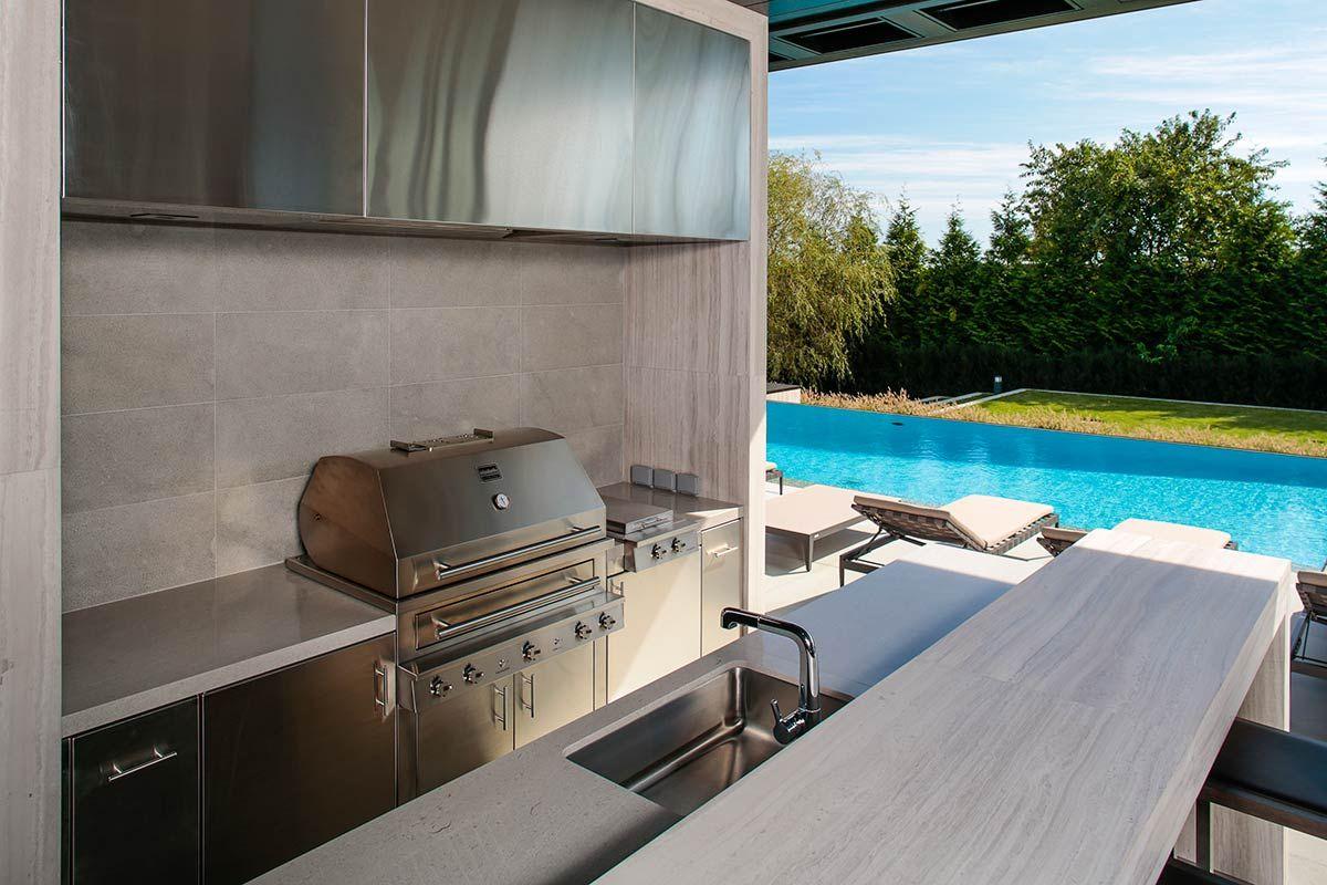Ultra Modern Outdoor Kitchen Modern Outdoor Kitchen Kitchen Inspiration Design Outdoor Kitchen Design