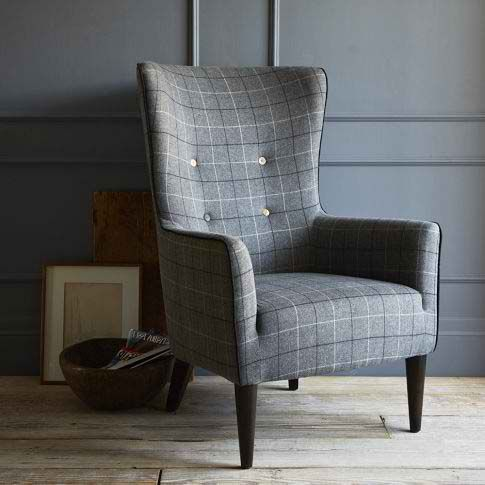 Image result for houndstooth chair