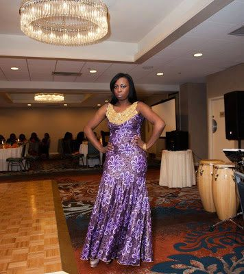 Subira Wahure Official African Couture Blog: LONG DRESSES...AFRICAN STYLE