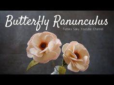 How to Make Felt Flower : Butterfly Ranunculus