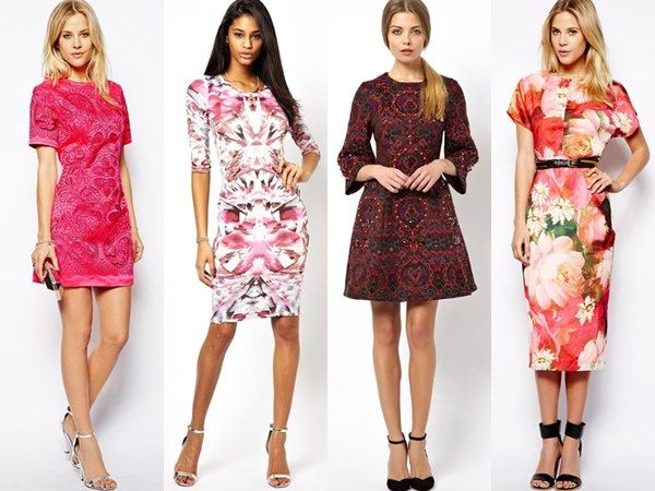 pretty floral dresses for garden party theme | garden party ...